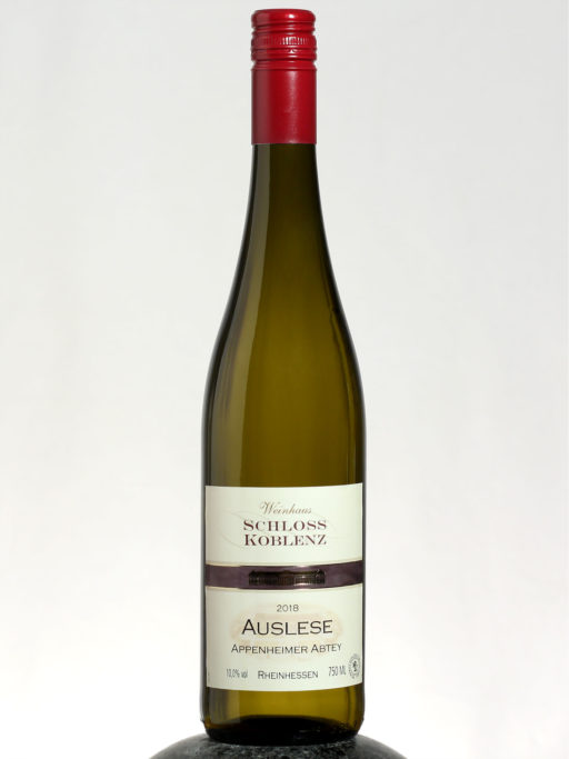 bottle of Schloss Koblenz Auslese wine