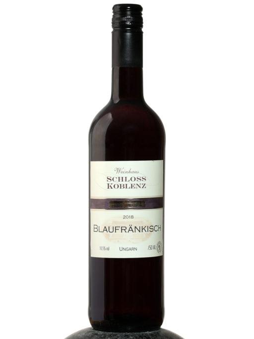 a bottle of Schloss Koblenz Blaufrankisch wine