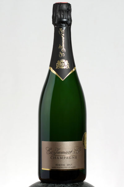 bottle of Jamart Reserve Brut Champagne wine