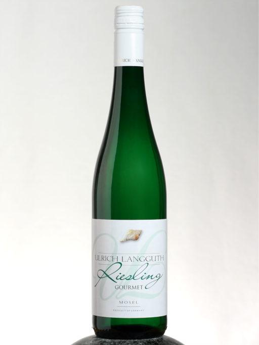 bottle of Ulrich Langguth Gourmet Riesling wine