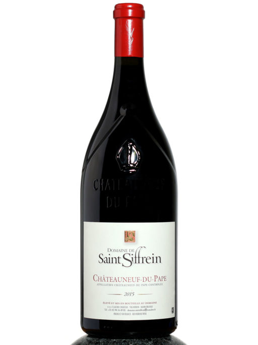 bottle of Domaine de Saint Siffrein Chateauneuf du Pape Magnum wine