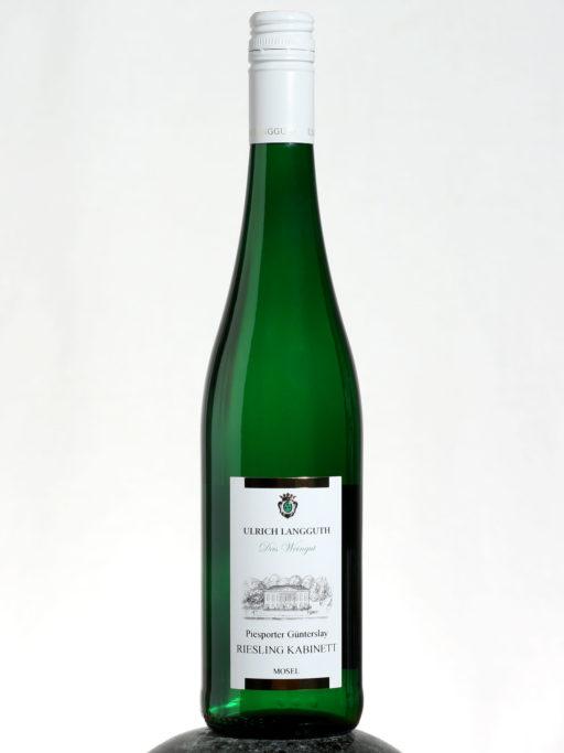 bottle of Ulrigh Langguth Riesling Kabinett wine