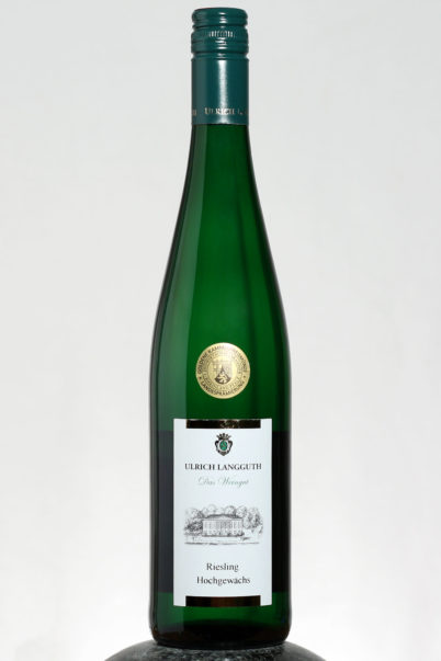 bottle of Ulrich Langguth Riesling Hochgewachs wine