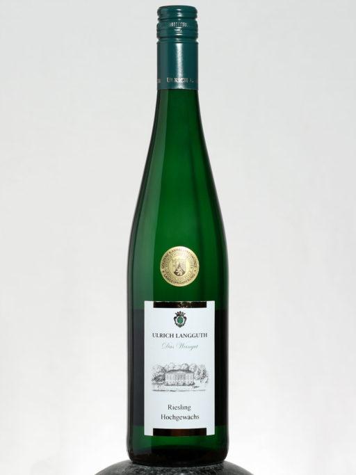 bottle of Ulrich Langguth Riesling Hochgewachs wine