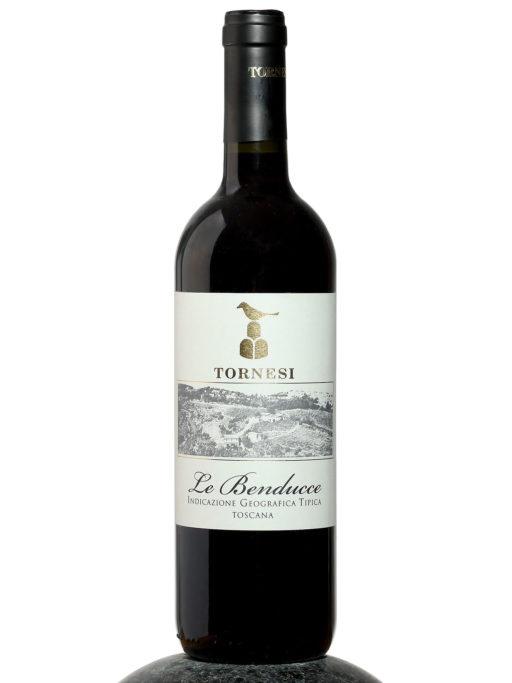 bottle of Tornesi Le Benducce wine